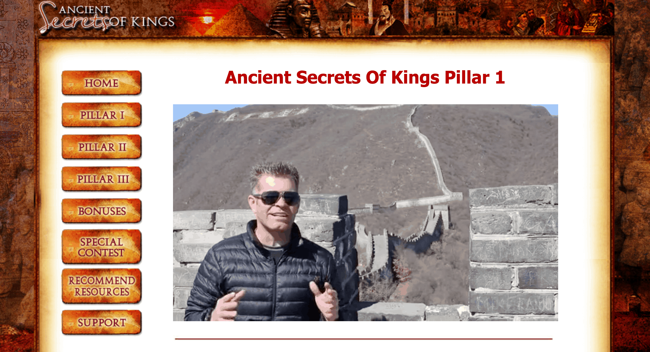 Ancient Secrets Of Kings Review – Winter Vee's New Course