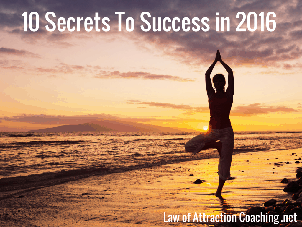 10 Secrets to success in 2016