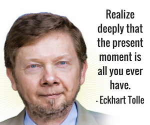 present moment quote eckhart tolle