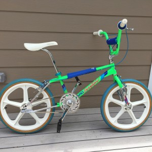 1986 Haro Freestyle Master in green